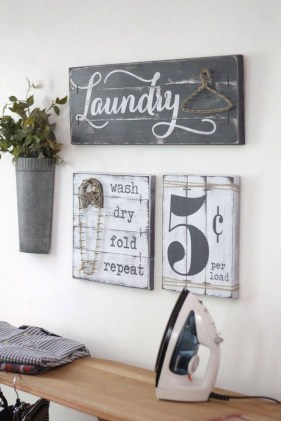 Enchanting Diy Easy Laundry Room Sign Ideas You Need To Try 25