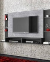 Enjoying Bedroom Design Ideas With Wall Tv To Try 02