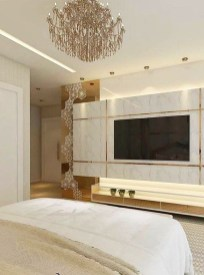Enjoying Bedroom Design Ideas With Wall Tv To Try 19