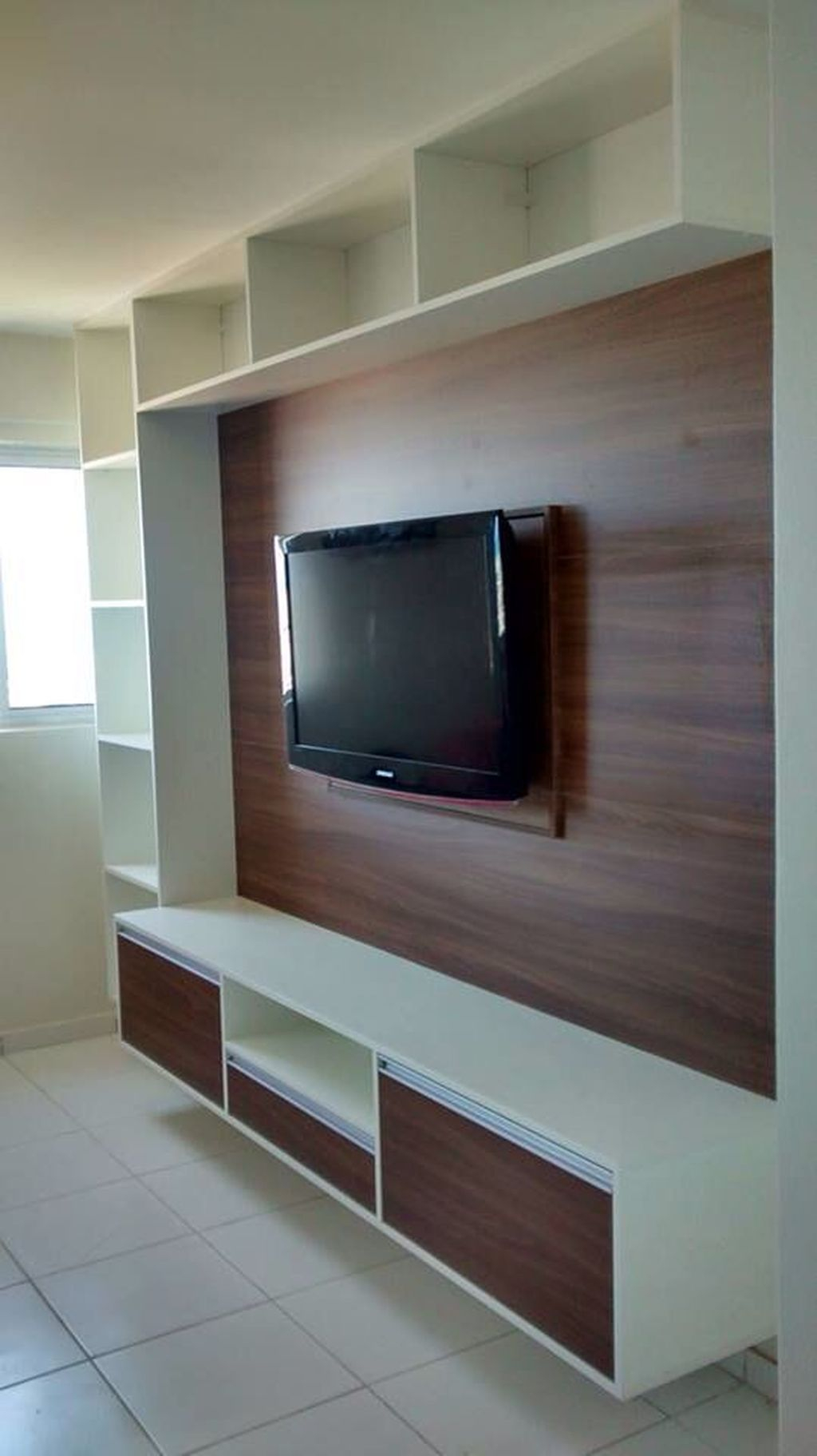 Enjoying Bedroom Design Ideas With Wall Tv To Try 24