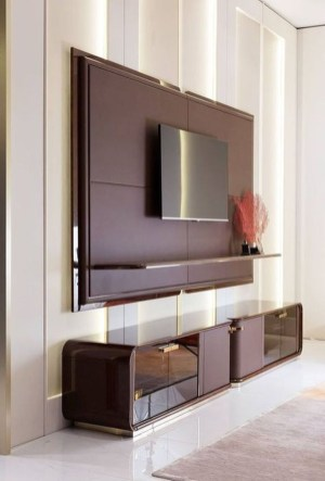 Enjoying Bedroom Design Ideas With Wall Tv To Try 25