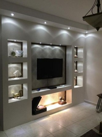 Enjoying Bedroom Design Ideas With Wall Tv To Try 26