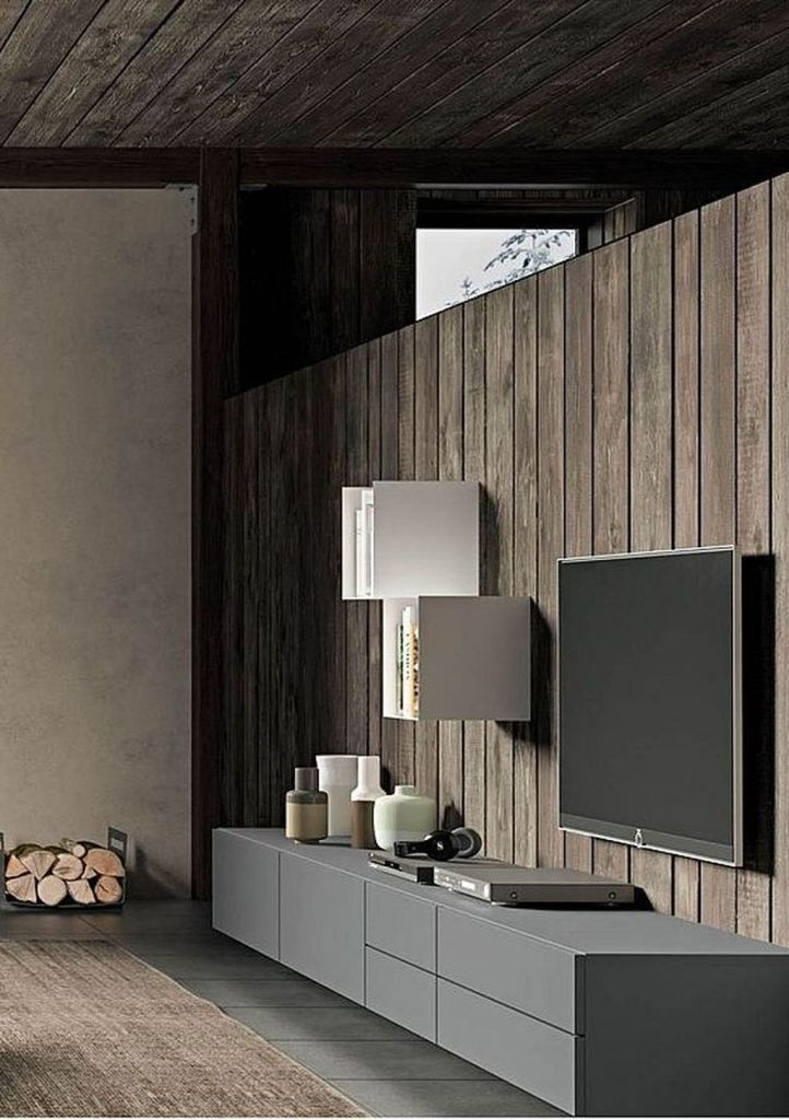 Enjoying Bedroom Design Ideas With Wall Tv To Try 29