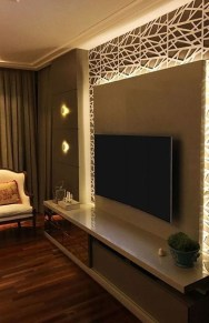 Enjoying Bedroom Design Ideas With Wall Tv To Try 31