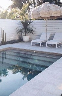 Flawless Small Pool Landscaping Design Ideas For Enchanting Home Outside 06
