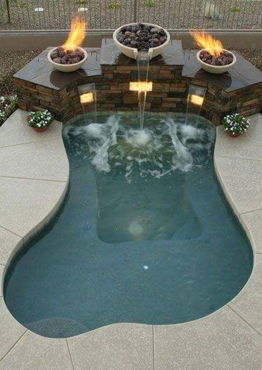 Flawless Small Pool Landscaping Design Ideas For Enchanting Home Outside 15