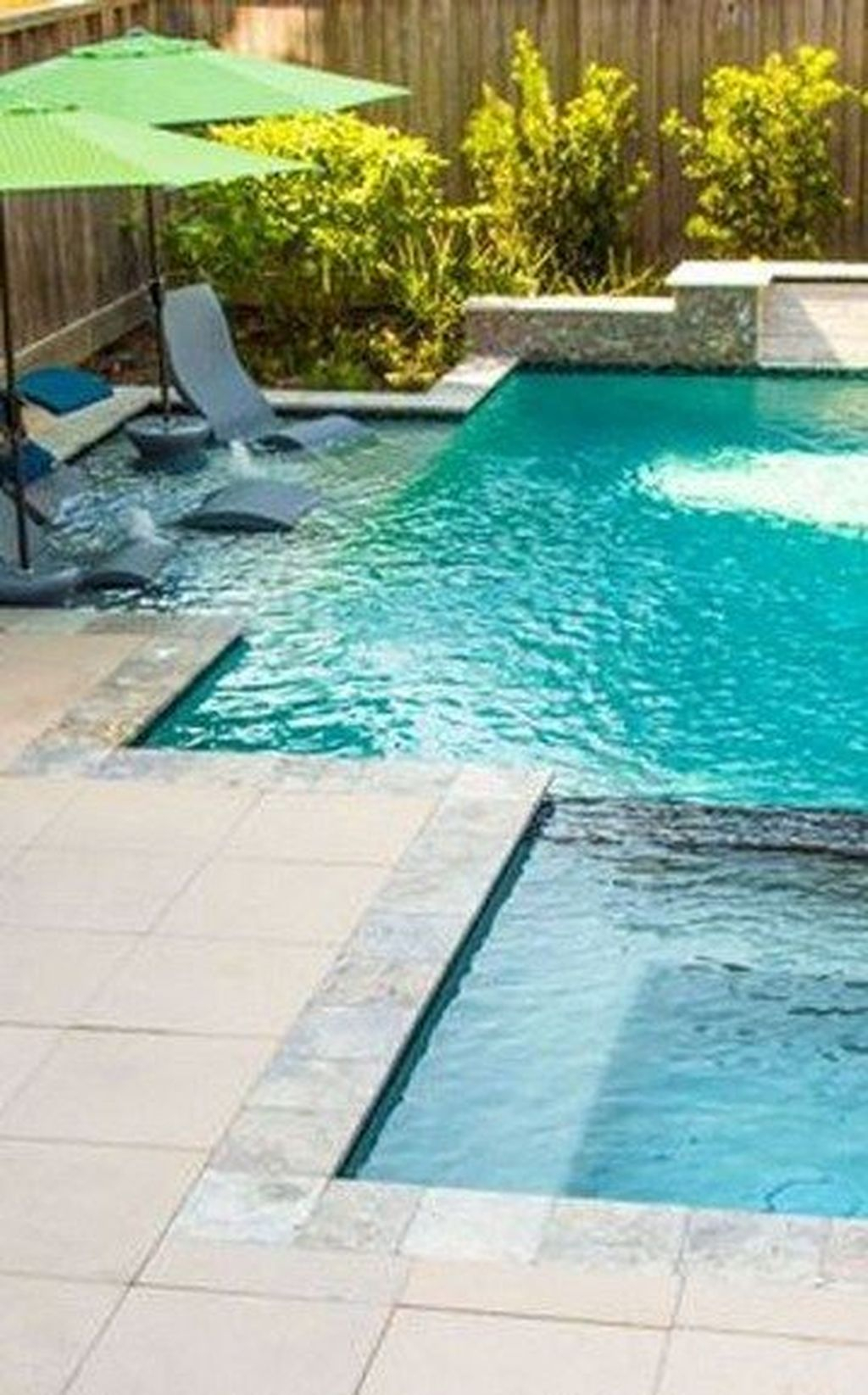 Flawless Small Pool Landscaping Design Ideas For Enchanting Home Outside 27