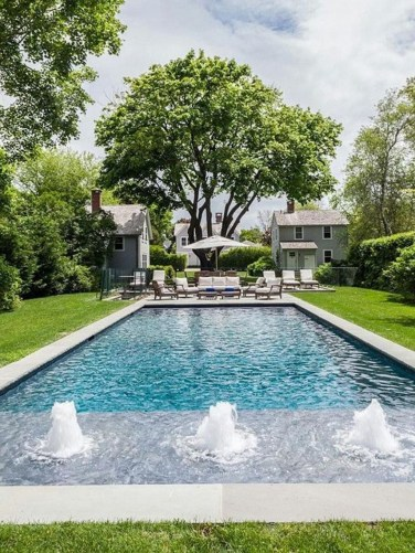 Flawless Small Pool Landscaping Design Ideas For Enchanting Home Outside 28