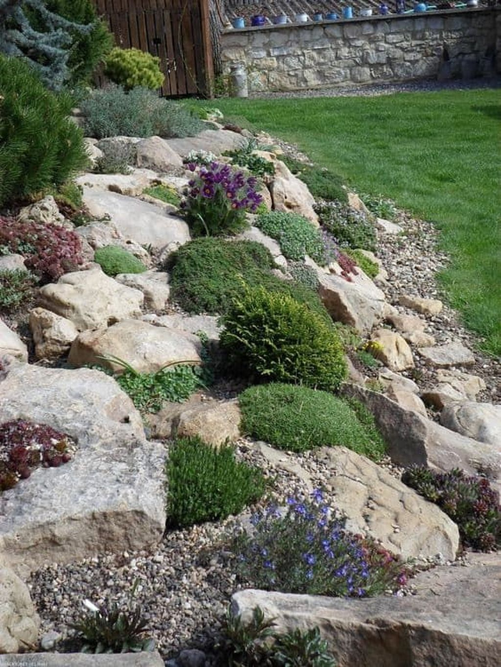 Inspiring Rock Garden Ideas To Make Your Landscaping More Awesome 35