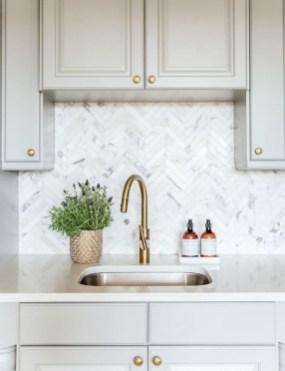 Luxury Grey Kitchen Backsplash Design Ideas For Your Inspiration 07