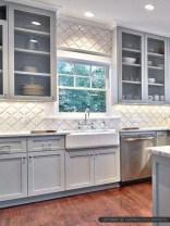 Luxury Grey Kitchen Backsplash Design Ideas For Your Inspiration 10