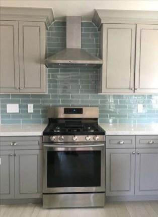 Luxury Grey Kitchen Backsplash Design Ideas For Your Inspiration 12