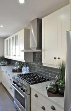 Luxury Grey Kitchen Backsplash Design Ideas For Your Inspiration 32