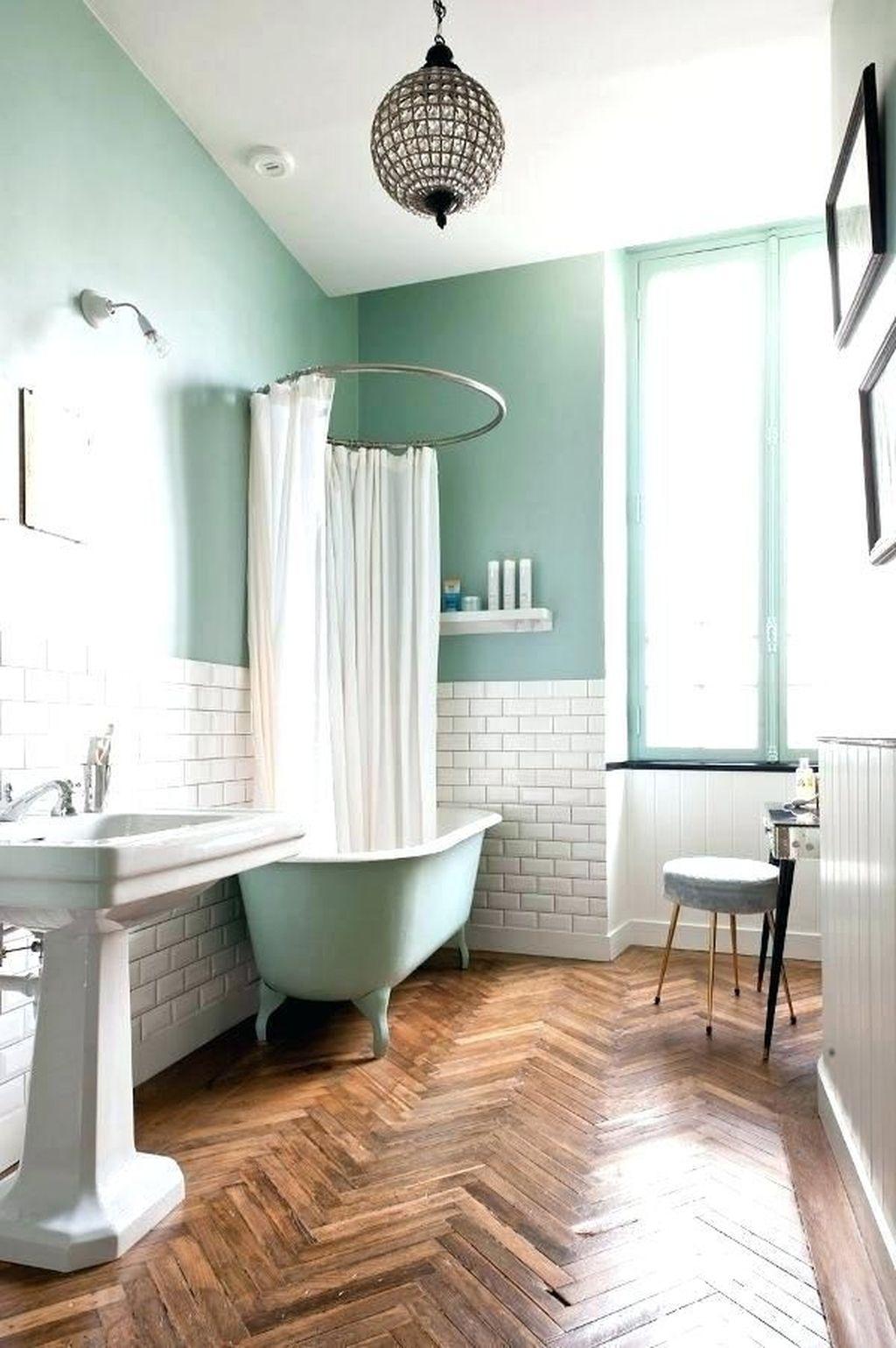 Marvelous Wooden Shower Floor Tiles Designs Ideas For Bathroom Remodel 04