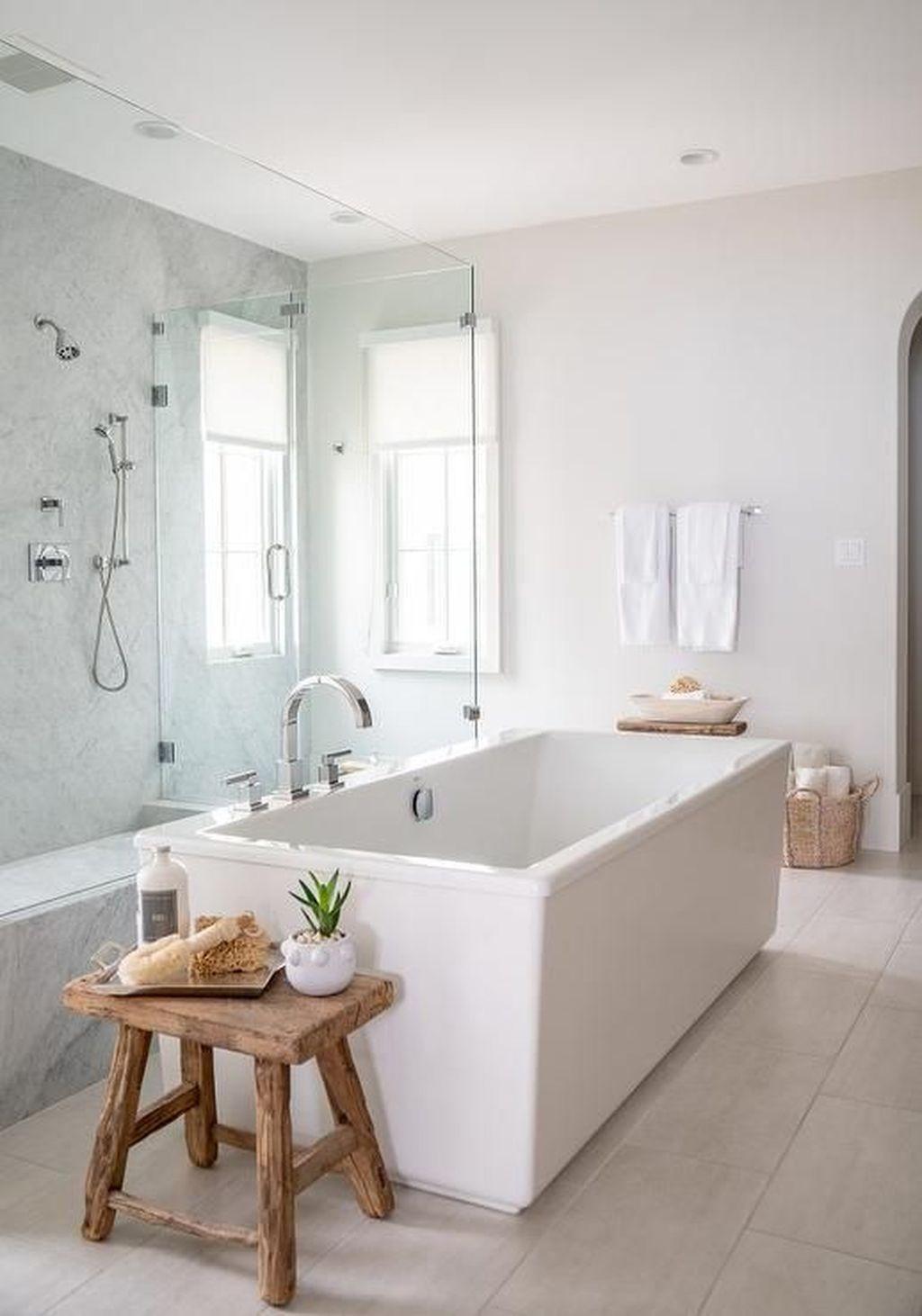Marvelous Wooden Shower Floor Tiles Designs Ideas For Bathroom Remodel 25