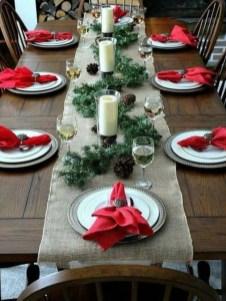 Pretty Winter Table Decoration Ideas For A Romantic Dinner 19