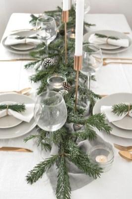 Pretty Winter Table Decoration Ideas For A Romantic Dinner 27