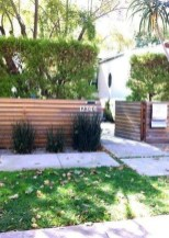 Surpising Fence Design Ideas To Enhance Your Beautiful Yard 02