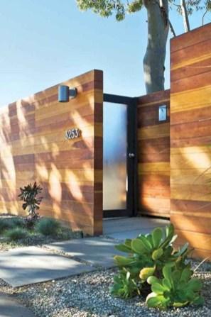 Surpising Fence Design Ideas To Enhance Your Beautiful Yard 25