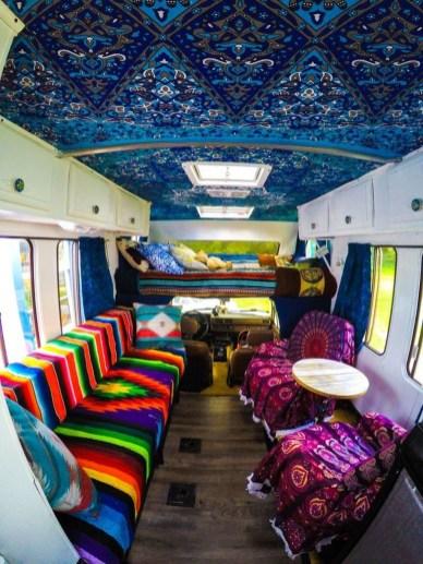 Wonderful Bohemian Rv Interior Designs Ideas For More Fun And Cheerful 30