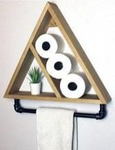 Amazing Bathroom Shelf Ideas With Industrial Farmhouse Towel Bar Tips For Buying It 14