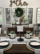 Amazing Dining Room Table Decor Ideas To Try Soon 01