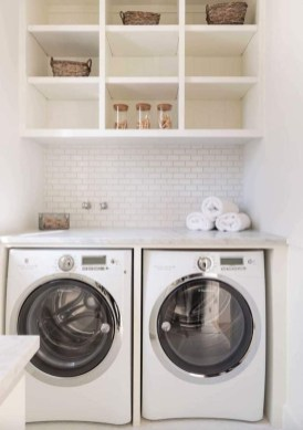 Best Small Functional Laundry Room Decoration Ideas That Looks Cool 26