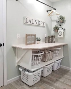 Best Small Functional Laundry Room Decoration Ideas That Looks Cool 29