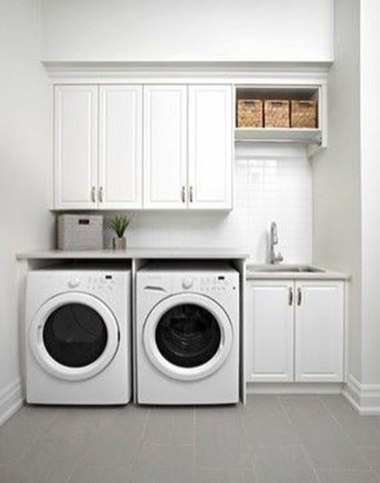 Best Small Functional Laundry Room Decoration Ideas That Looks Cool 32
