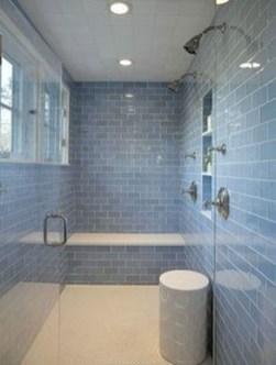 Chic Blue Shower Tile Design Ideas For Your Bathroom 01