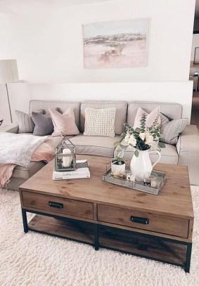 Comfy Farmhouse Living Room Decor Ideas To Copy Asap 07
