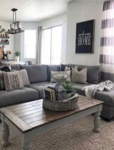 Comfy Farmhouse Living Room Decor Ideas To Copy Asap 19