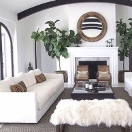 Comfy Farmhouse Living Room Decor Ideas To Copy Asap 27