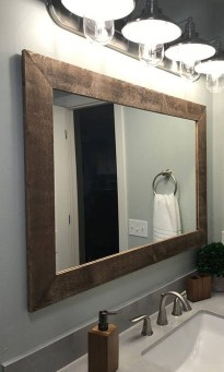 Cool Bathroom Mirror Ideas That You Will Like It 12