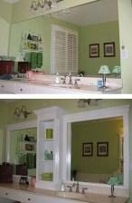 Cool Bathroom Mirror Ideas That You Will Like It 17