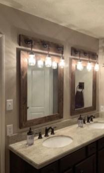 Cool Bathroom Mirror Ideas That You Will Like It 30