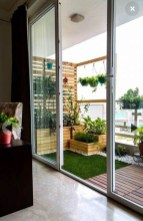 Enchanting Balcony Decoration Ideas For Apartment For A Cleaner Look 24