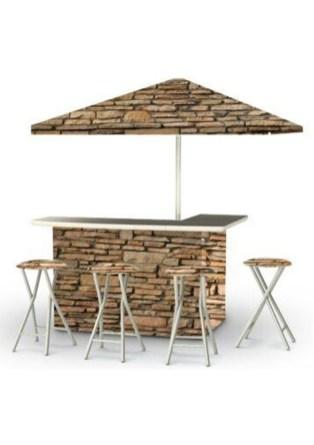 Enjoying Outdoor Bar Design Ideas To Relax Your Family 25