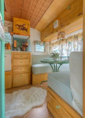 Fancy Rv Interior Design Ideas For Prepare Winter Holiday 26