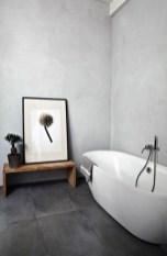 Fantastic Black Floor Tiles Design Ideas For Modern Bathroom 11