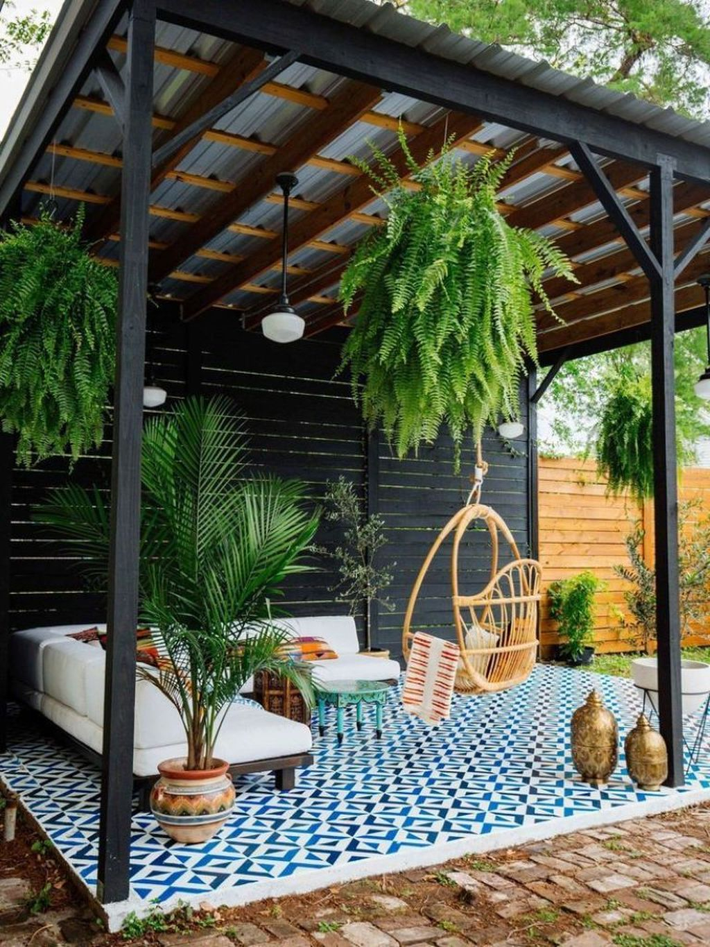 Favorite Home Patio Design Ideas With Best Hanging Plants 03