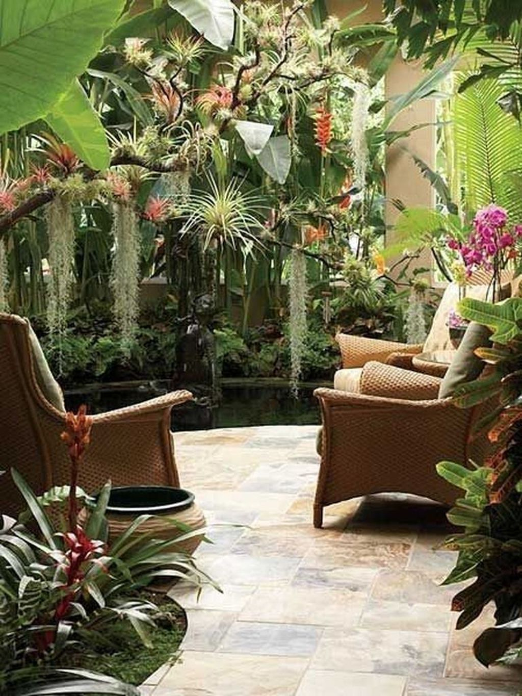 Favorite Home Patio Design Ideas With Best Hanging Plants 05