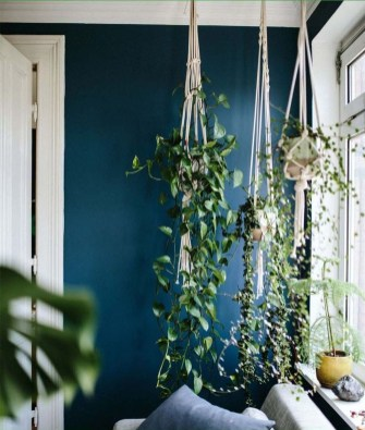 Favorite Home Patio Design Ideas With Best Hanging Plants 17