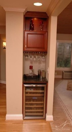 Inexpensive Home Cabinet Design Ideas For Cozy Family Room On A Budget 07