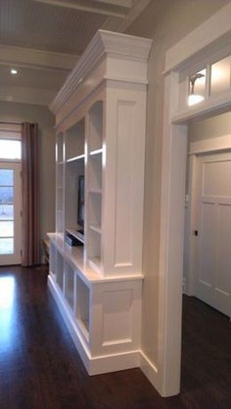 Inexpensive Home Cabinet Design Ideas For Cozy Family Room On A Budget 09