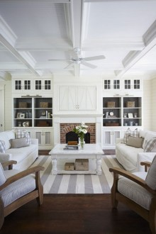 Inexpensive Home Cabinet Design Ideas For Cozy Family Room On A Budget 12