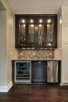 Inexpensive Home Cabinet Design Ideas For Cozy Family Room On A Budget 14