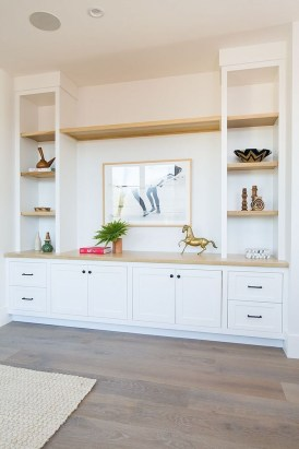 Inexpensive Home Cabinet Design Ideas For Cozy Family Room On A Budget 34