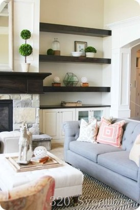 Inexpensive Home Cabinet Design Ideas For Cozy Family Room On A Budget 35