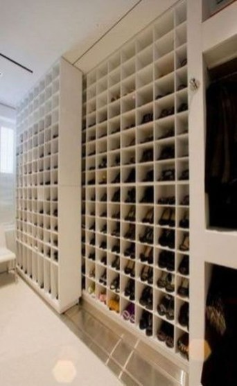 Luxury Antique Shoes Rack Design Ideas To Try Right Now 25